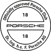 Officially approved Porsche Club 18
